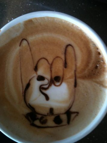 Coffee: Horns up!