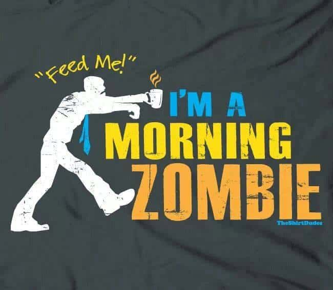 Good Morning Zombie Meme : I am a morning zombie dravens tales from the crypt