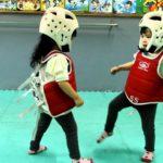 Förmodligen den sötaste taekwondo Duel