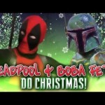 Day 3: Deadpool and Boba Fett do Christmas‏ – Advent Calendar from the Crypt