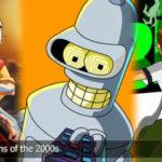 Den beste 10 Tegneserier of the Year 2000