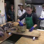 Spullen, die worden aangetroffen in de maag van een Mako shark: Een Mako Shark's Last Meal