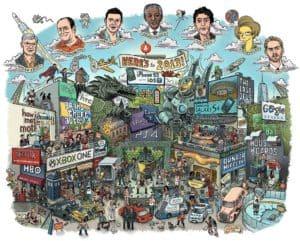 Der Jahresrückblick 2013 zusammengefasst in einem Bild