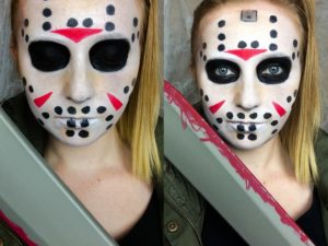 """Jason Voorhees """"Friday the 13th"""" Makeup Tutorial"""