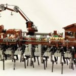 Lego Steampunk Walking Ship
