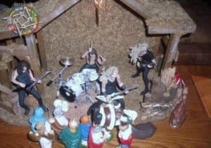 Day 11: Metallica Krippe - Advent Calendar from the Crypt