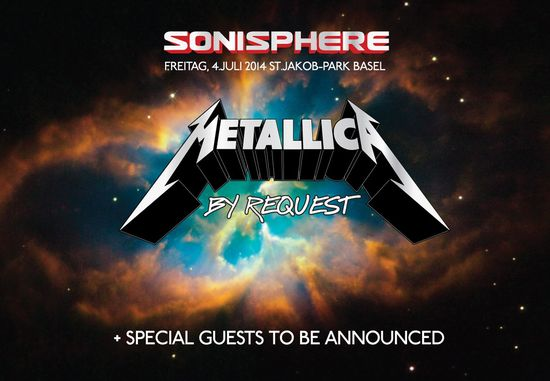 Metallica by Request in Basel, Sonisphere Schweiz