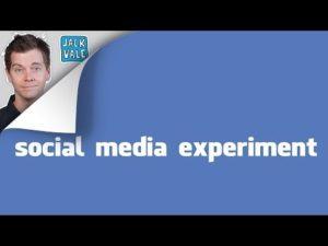 Meine Daten sind Deine Daten - Social Media Experiment