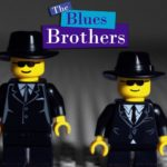 Lego Blues Brothers: Stop Motion dom towarowy poÅ›cig
