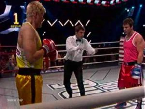 Real Boxing Match: Dolph Lundgren vs Oleg Taktarov