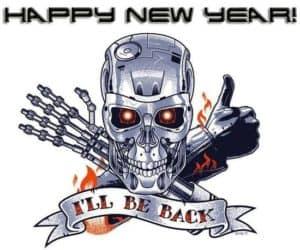 Happy New Year - I'll be back!
