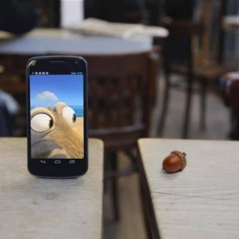 Ice Age iPhone Scrat