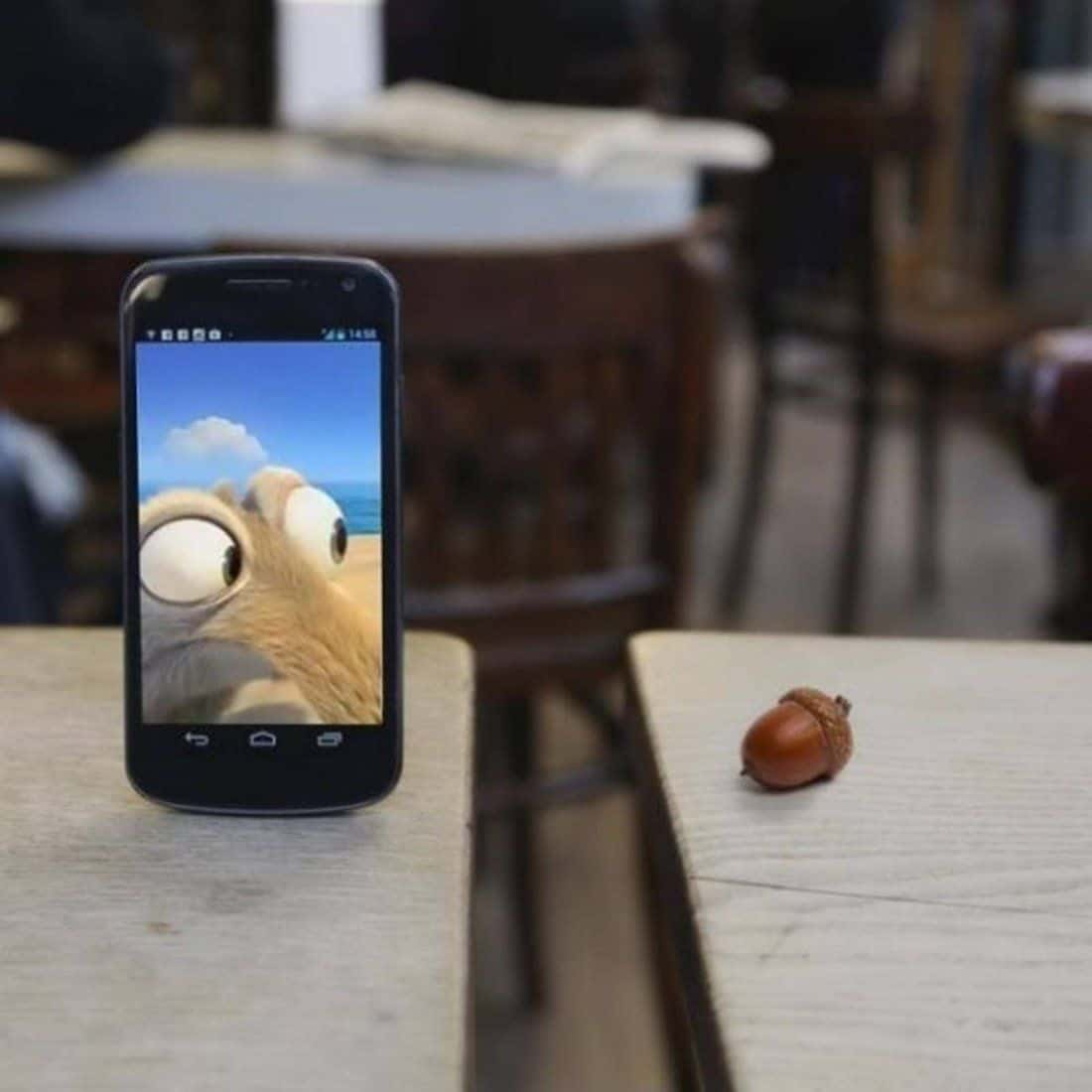 Ice Age iPhone Scrat