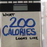 as 200 Ausschauen calories
