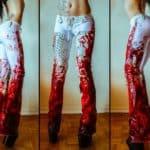 Bloodbath Tóxicas Splatter Visión Pantalones