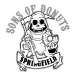 Donuts Sons Of – SOA-Logo Simpsonized Of