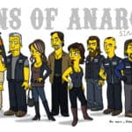 """Sons of Anarchy"" Simpsonized"