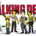 """The Walking Dead"" simpsonized"
