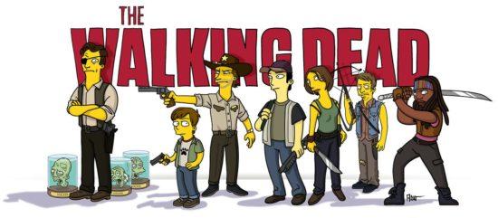 """""""The Walking Dead"""" Simpsonized"""