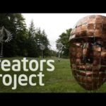 Anthony Howes Otherworldly Kinetic skulpturer