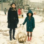 Then and Now – Chino Otsuka mounted in their children Photos