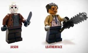 Horror Film Lego Minifiguren