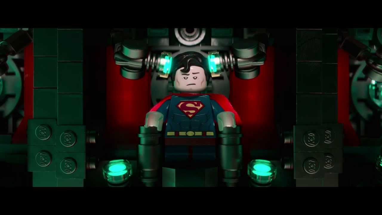 "Man of Plastic – Superman Trailer zu ""The LEGO Movie"""