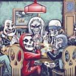 Pôquer do Inferno: Metal Maskottchen beim Pôquer