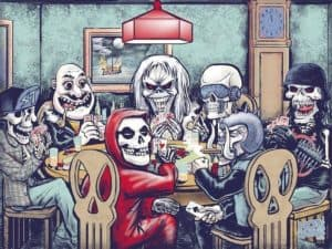 Poker from Hell: Metalen Maskottchen beim Poker