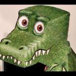 T-Rex follows every movement