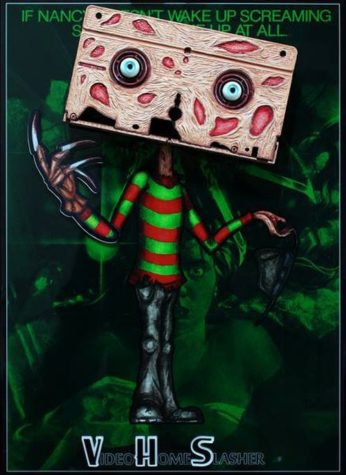 VHS Freddy Krueger