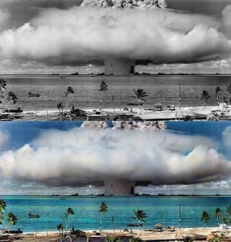 Test of the hydrogen bomb, 1951