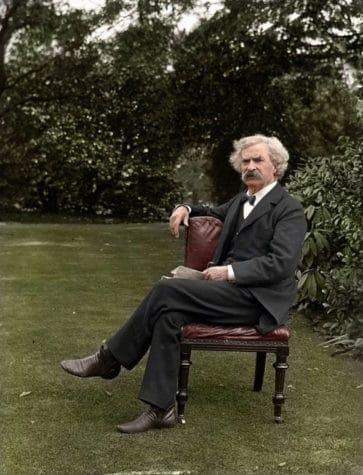 Mark Twain, as. 1900