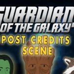 Guardians of the Galaxy Post Laajuus Scene