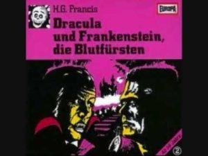 H.G.Francis: Dracula und Frankenstein, die Blutfürsten