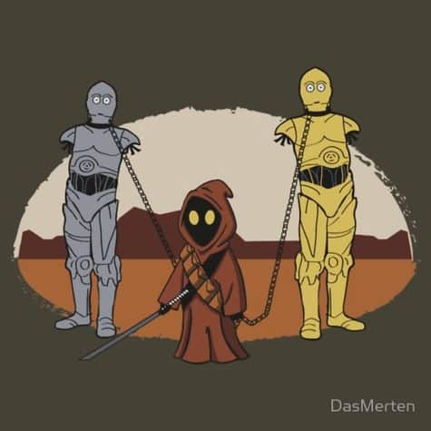 These are not the droids you're looking for?