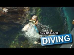 Remi Gaillard idzie nurkowanie