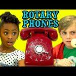 Kiedy dzieci napotykają telefon piasty