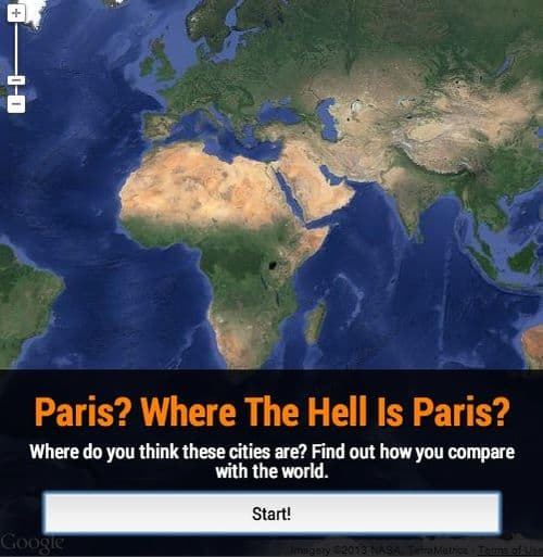 Paris? Where the hell is Paris?