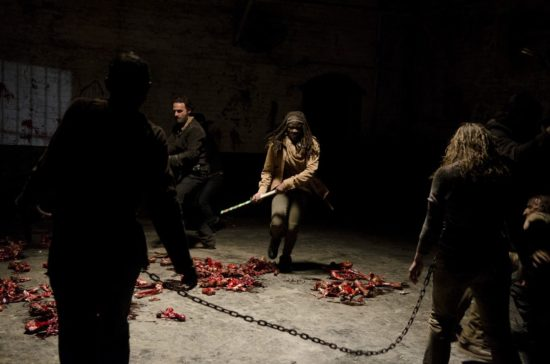 TWD: Picture from a deleted scene in the Season 4 finale