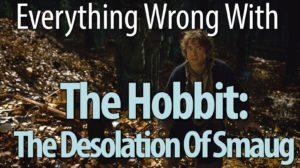 Allt fel med The Hobbit: Ödeläggelsen av Smaug
