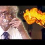 Explodierende Wasserstoff-Seifenblasen – Esplodere bolle di idrogeno