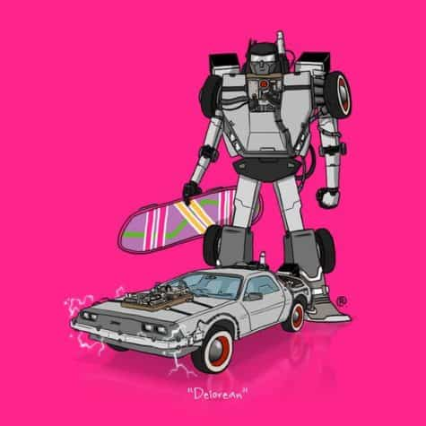 Transformers DeLorean