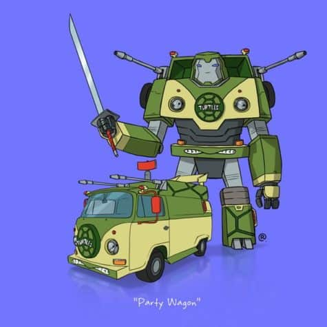 Transformers Partywagon