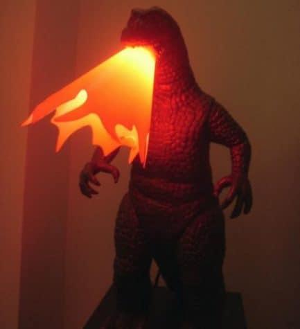 Godzilla Lampe