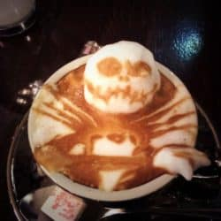 Horror Coffee Art: Jack Skellington