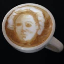 Horror Coffee Art: Michael Myers