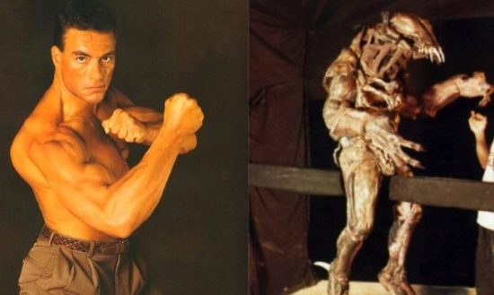 "Wie der ""Original"" Predator has appeared with Jean-Claude Van Damme"