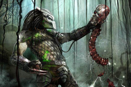Predator surprises Terminator