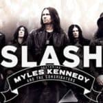 Slash featuring Myles Kennedy & The Conspirators live in der St. Jakobshalle Basel